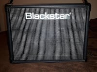 black and gray Line 6 guitar amplifier Rocky View No. 44, T4B 2T3