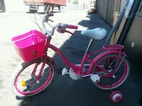toddler's pink and white bicycle with training whe Gardena, 90248