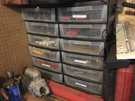 2  7 drawer containers
