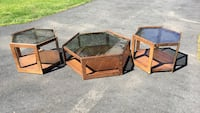 Coffee table with 2 side tables (for pick up only) Bardonia, 10954