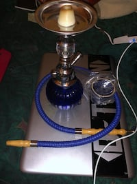 black and gray hookah with box Woodland, 95695