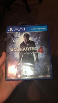 Uncharted 4 ps4 game East St. Paul, R2E 1J6