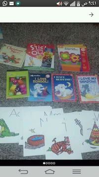 Kids learning books and stickers and alphabet  Regina, S4R 4M2