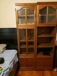 Two Wood Cabinet