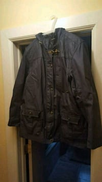 black button-up jacket Closter, 07624