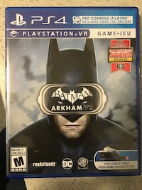 Batman vr game PS4 Langley, V2Y 0R2
