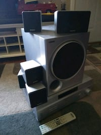 5.1 Sony Surround Sound System with remote! Paducah