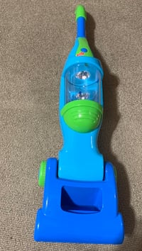 Toy vacuum batteries not included.