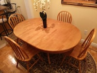 Dining table - oak Mississauga, L4W 3S7