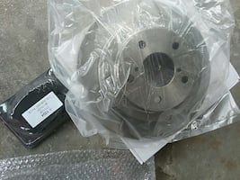 Brand new rear rotors and pads
