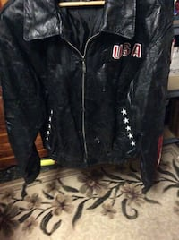 JUST REDUCED Leather coat  Rockville, 20852
