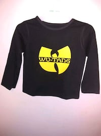 Custom Wu Tang Toddler Shirt (new) Little Rock