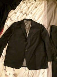 Mens two piece suit xxl short leg