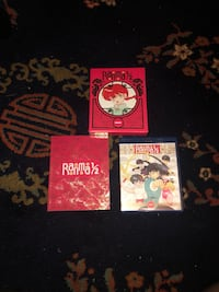 Ranma 1/2 Anime DVD With Special Edition Booklet Columbia, 21044