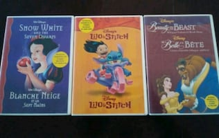DISNEY SNOW WHITE + BEAUTY & THE BEAST + LILO & STITCH CD READ ALONG
