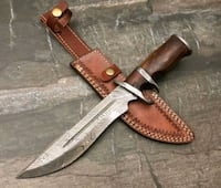 CUSTOM HAND MADE DAMASCUS KNIFE  Wazirabad