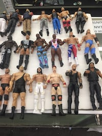 Wrestlers. WWE & WWF.    $4.50-$5.50 each. Sold individually