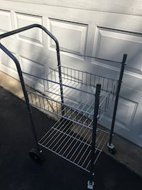 Wire rolling cart Reston