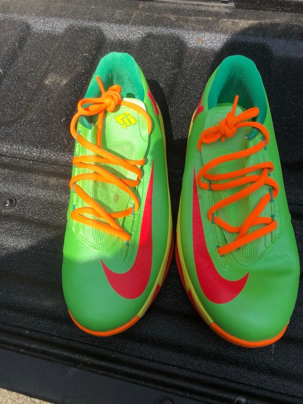 "Nike KD  (Kevin Durant) 6 GS ""Candy"" in flash lime/ 22ab56d9-3e6d-4b03-85e2-af9422b1f598"