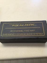 Realistic 40 channel 2 way radio. Green Bay Wis.   CB for car Allouez, 54301