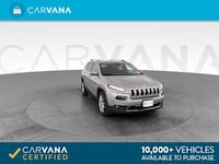 2018 *Jeep* *Cherokee* Limited Sport Utility 4D suv SILVER Downey