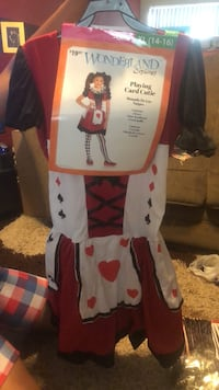 white and red Hello Kitty print dress Los Angeles