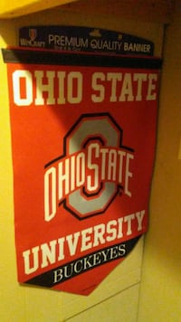 Large BANNER. OHIO STATE. New.