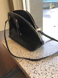 Black Coach leather handbag Vancouver, V5T