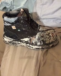 Used a few times ultra Steel toed boots. Reg $99. Size10 New Westminster, V3L 1J7
