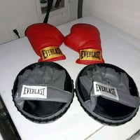 Everlast gloves and punching mits for CHILDREN Garland, 75044