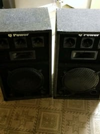 black and gray High Power Speakers  Largo, 20774