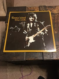 Ronnie Wood lp Now Look MINT Milford, 18337