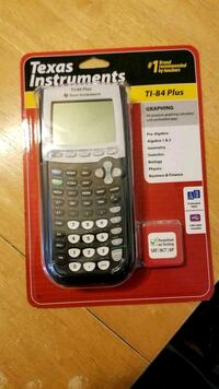 black Texas Instruments TI-84 Plus Downey, 90241