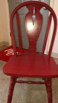 Red and white kitchen table Hagerstown