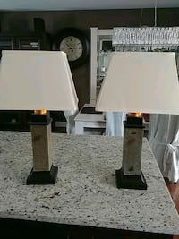 Pair of outdoor patio Lamps. Battery operated Pitt Meadows, V3Y 1M8