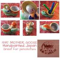 Mother Goose planter...Handpainted...Made in Japan 1935 Calgary, T2L 0T3