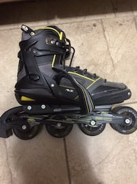 pair of black inline skates Toronto, M5S 2R3