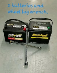 2 batteries and a wheel lug wrench  Rockville, 20852