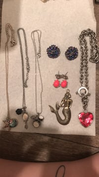 Necklace, earrings and chain  Camarillo, 93010