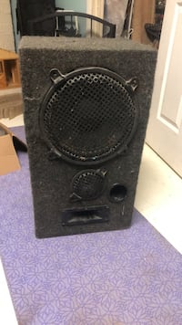 black and gray subwoofer speaker Gaithersburg, 20879