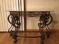 Glass accent table Burbank, 60459