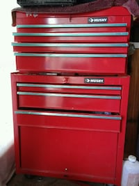 red and black tool chest Newark, 94560