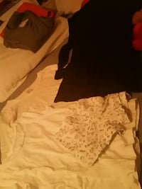 women's white and brown dress