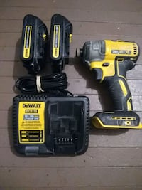 DeWalt dcf887 + charger and extra battery London