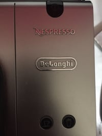 Selling my Brand New Delonghi Nespresso machine beautiful nespresso machine Lattissima-Silver sells for $499.99 at the Bay and many other stores coffee maker