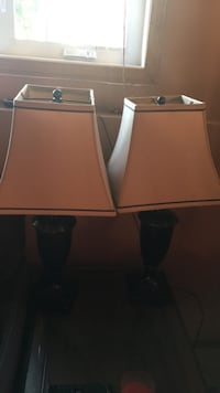 SET OF TWO LAMPS Edmonton, T5Z 2S3
