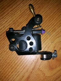 black 10 wrap coil tattoo machine for shading and color packing