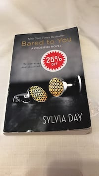 Bared to you-Sylvia Day Toronto, M4Y 1H4
