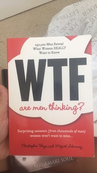 WTF are men thinking book Coquitlam, V3K 2B4