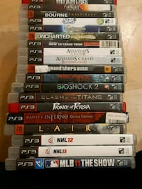 19 used PS3 games